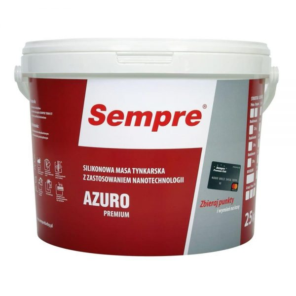 AZURO PREMIUM tynk silikonowy