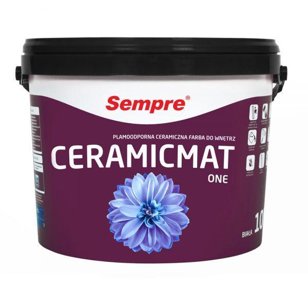 Ceramicmat one - plamoodporna farba ceramiczna do wnętrz