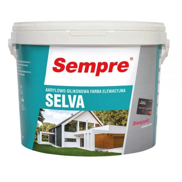 SELVA - akrylowo - silikonowa farba elewacyjna